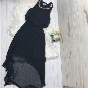 Black ISSL Midi Dress Size S